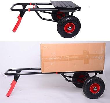 Dapetz/® 2X 265lb Heavy Duty Sack Truck Industrial Hand Trolley with Pneumatic Tyre Wheel