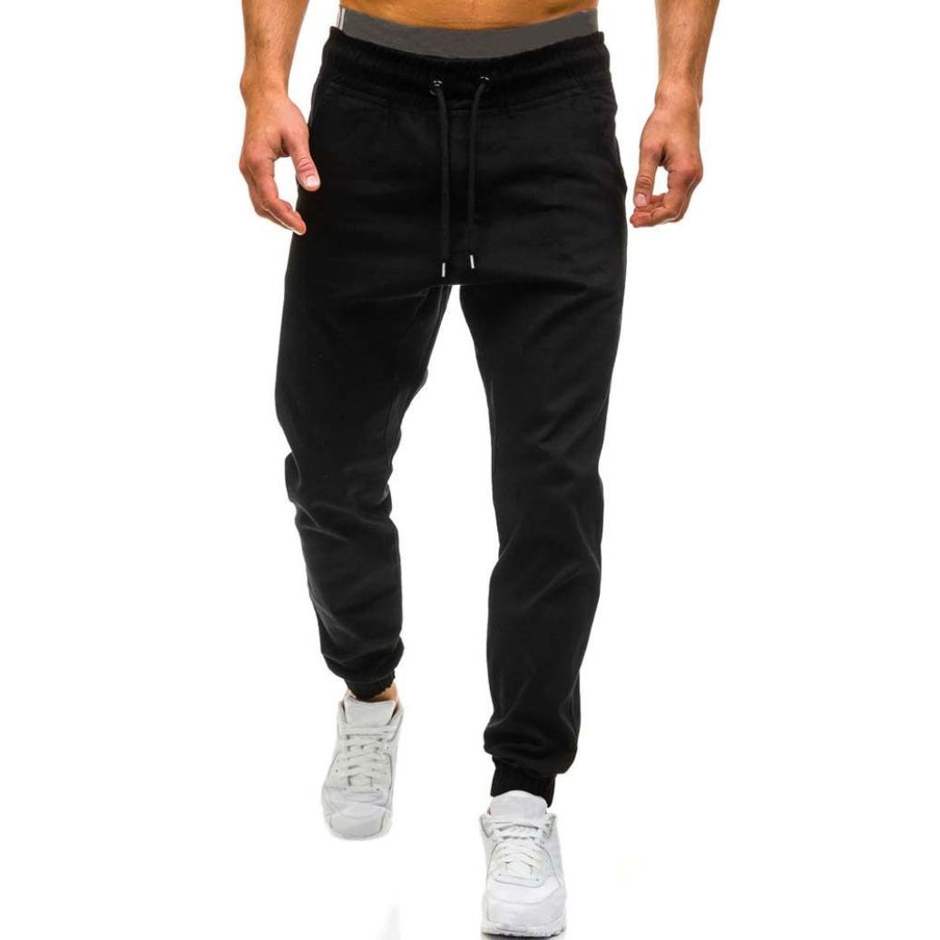 1abeb86c3ac HOMEBABY Men s Design Jogger Dance Hip Hop Sports Trousers - Gym Yoga  Workout Running Pants Trousers Sportwear Sweatpants- Fitness Pants  Tracksuit Leggings ...