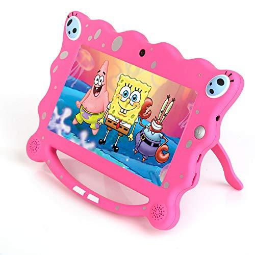 Ainol 7C08x-Tablet infantil de Android 8.1,tablet para niños de 7pulgadas,regalo para niños,1GB+16GB con wifi,doble cámara,tablet de Bob ...