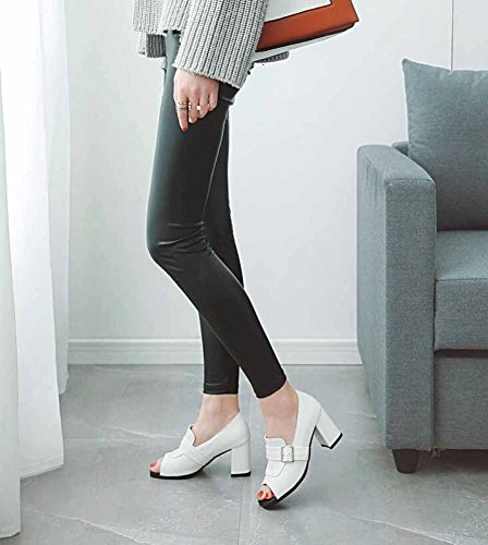 Mujer Mujer Punta Cintur Abierta Abierta Zapatillas Zapatillas Punta Zapatillas Mujer Cintur Punta Abierta qXr6xaX