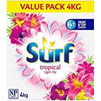 Surf Front & Top Loader Laundry Powder Tropical Lily, 4kg