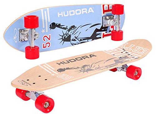 HUDORA Longboard Skateboard Cruiser ABEC 7, 12801