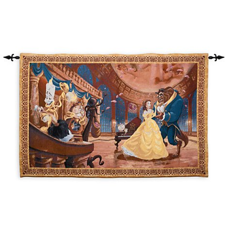 Disney Beauty and the Beast Tapestry Wall Hanging by Disney