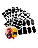 BcPowr 280 PCS Chalkboard Labels Bundle,Jars