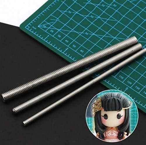 CHENGYIDA 3サイズ 粘土の彫刻の髪のテクスチャツール 陶芸用品 粘土 彫刻 ヘア 工芸用 手作りの人形を作る人形