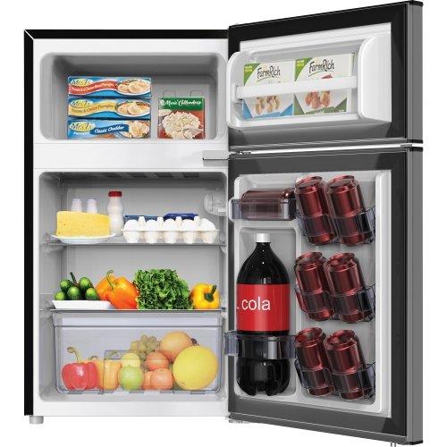 - Avanti RA31B3S 3.1 CF Refrigerator Freezer, Stainless Steel