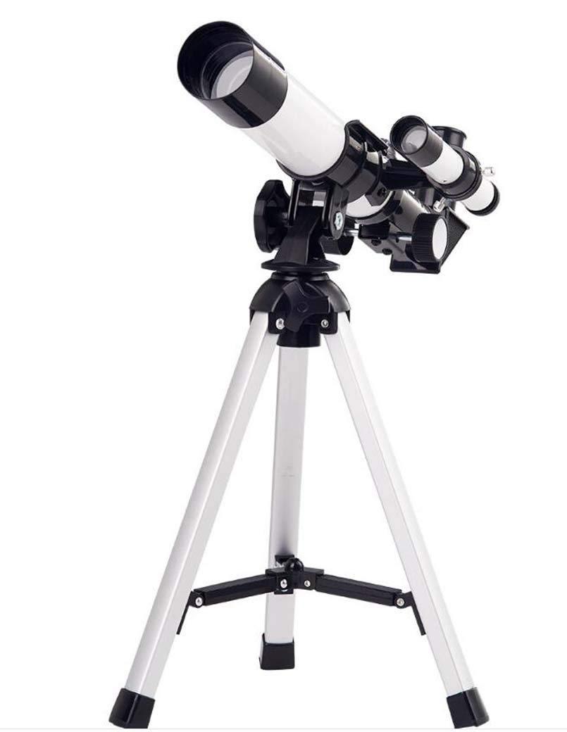 Refractive Astronomical Telescope, Monocular 90° Zenith Mirror Space Finder HD Refraction Telescope New Year Birthday Present by ZTYD
