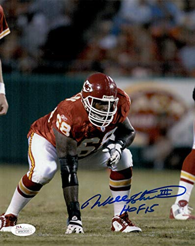 Image Unavailable. Image not available for. Color  Will Shields Autographed Signed  Kansas City Chiefs 8x10 Photo HOF JSA bead8a700