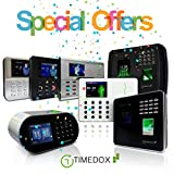 Timedox Tandem Pro WiFi/LAN Biometric Time Clock