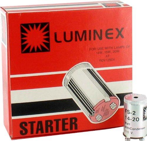 (Luminex Fluorescent Bulb Starter #FS-2 Box of 25)