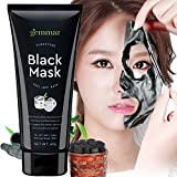 Beauty : Black Mask Peel off Mask, Charcoal Purifying Blackhead Remover Mask Deep Cleansing for Acne & Acne Scars, Blemishes, Anti-Aging, Wrinkles, Organic Activated Charcoal
