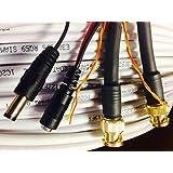 400' WHITE HD-SDI COMPRESSION BNC VIDEO RG59-RS485-POWER PTZ DATA SIAMESE HD-SDI CABLE 18/2