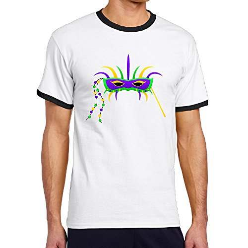 mardi-gras-mask-2016-boys-short-sleeve-ringer-shirts