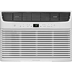Frigidaire's 10, 000 BTU 115V window-mounted compact air conditioner is perfect for cooling a room up to 450 square feet. It quickly cools the room on hot days and quiet operation keeps you cool without keeping you awake. Low power start-up a...