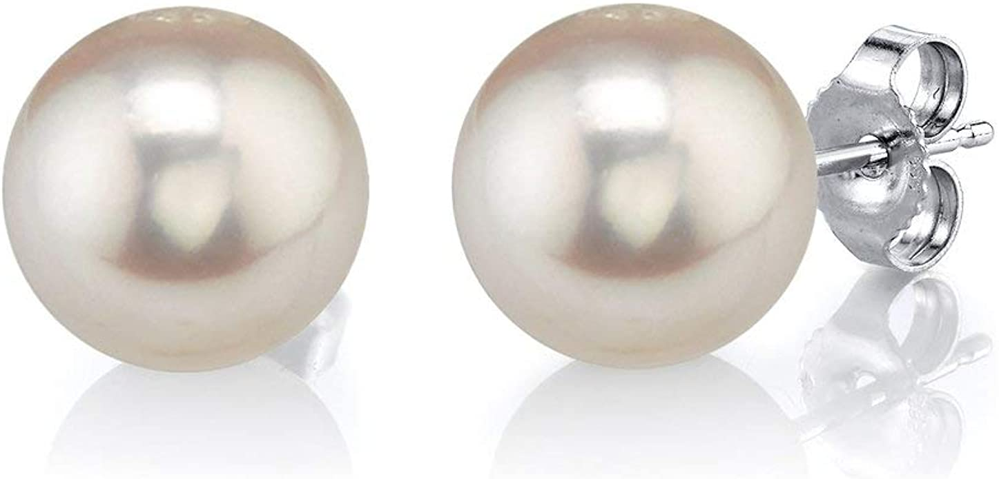 1Strang Zuchtperlen Süßwasser Perlen Schmuck Kette Halskette 9-10mm HA