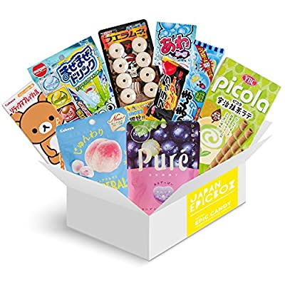 """Japanese Candy Assortment - Premium Selection of Candy and Snacks Imported from Japan - Gummy, Sours, Sweets, Crackers- """"Japan Epic Candy Mini"""""""