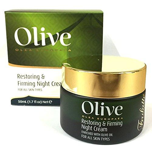 (Frulatte Olive Olea Europaea Olive Oil Restoring & Firming Night Cream For All Skin 50ml)