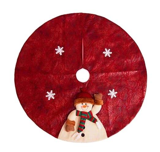 24station [E] Precioso árbol de Navidad Falda Árbol de Navidad ...