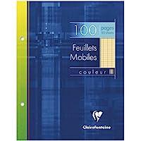 100 folios unicolor Clairefontaine de 170x 220mm