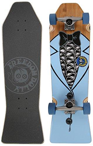 Freedom Dolly Blue Tuxedo Coffin Cruiser Deck Sz 29 x (Coffin Cruiser Skateboard)