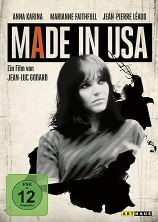 Made In Usa Amazonde Anna Karina László Szabó Jean Pierre Léaud