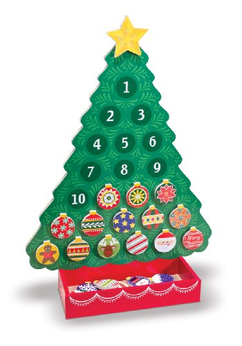 Melissa & Doug Countdown to Christmas Wooden Advent