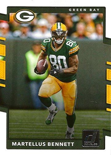 2017 Donruss  27 Martellus Bennett Green Bay Packers Football Card