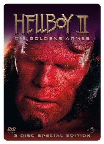 hellboy die goldene armee dvd cover label 2008 r2. Black Bedroom Furniture Sets. Home Design Ideas