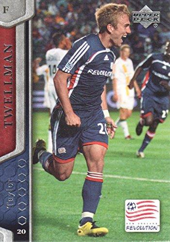 2007 Upper Deck MLS Soccer #71 Taylor Twellman New England Revolution