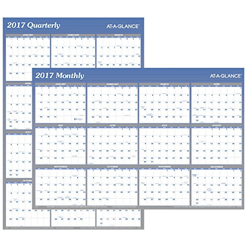 2017 quarterly calendar