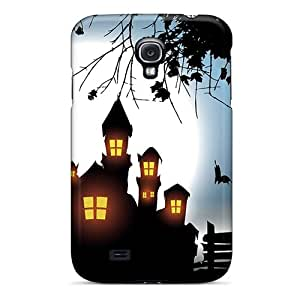 Casesmore166 Yuq3180YcMV Cases For Galaxy S4 With Nice Pumpkin Monster House Appearance Black Friday