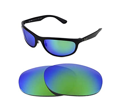 NEW POLARIZED REPLACEMENT GREEN LENS FOR RAY BAN BALORAMA 4089 62mm  SUNGLASSES 55c5591cfbfa