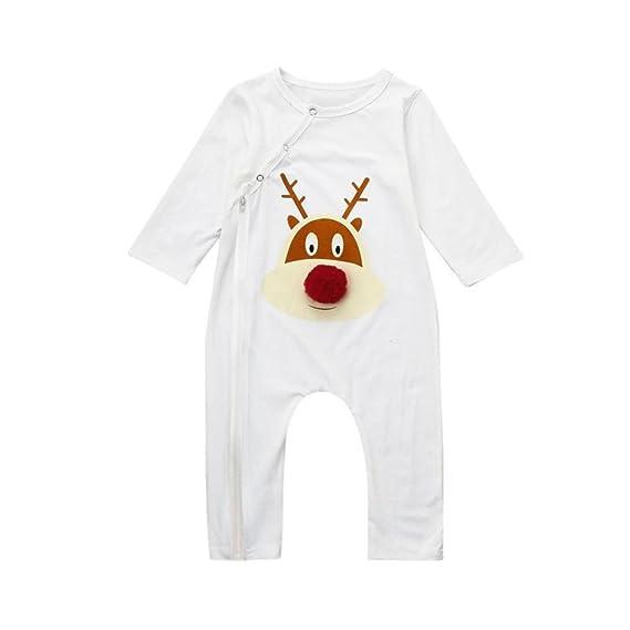 QUICKLYL Pijamas Familia Navidad Mangas Largas Invierno Mom Top Pantalones Bebé Peleles Ropa: Amazon.es: Ropa y accesorios