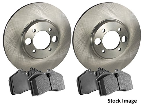 1996 For Mazda MPV Front Disc Brake Rotors and Ceramic Brake Pads