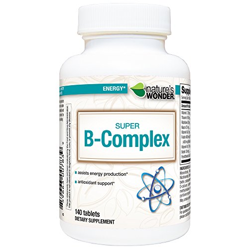 (Nature's Wonder Super B Complex Tablets, 140 Count)