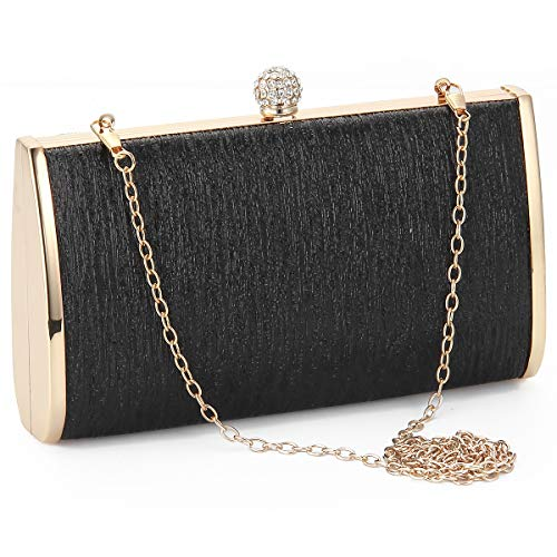 Women Evening Clutch Bags Metal Frame Evening Bag Night Purse Handbag Wedding Prom Party Cocktail Bridal Clutches