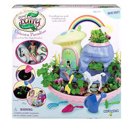 Set Garden Fairy (My Fairy Garden Unicorn Paradise - Grow Your Own Magical Garden!)
