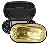 Yuanhong PET Plastic Case Compatible with Sony Playstation Psp2000 Psp1000 Also Suit for Psv 1000 Ps Vist 2000 , Gold