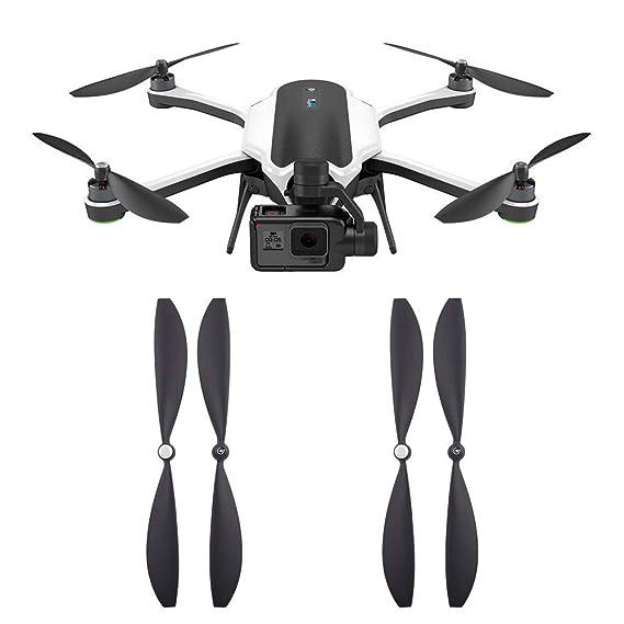 Ewendy - Hojas de hélice para drones Gopro Karma (4 unidades ...