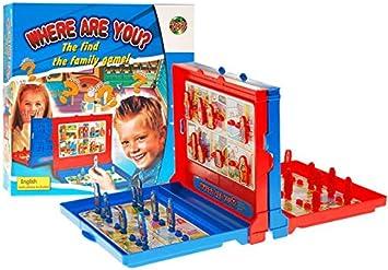 BSD Juego Familiar - Juego de Mesa - Where Are Yoy? - Juego de Encontrar la Familia: Amazon.es: Juguetes y juegos