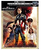 Captain America: The First Avenger 4K Limited Edition Steelbook (4K Ultra+Blu-Ray+Digital)