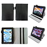 Bear Motion for Kindle Fire HD 7 (2012 Release) - Genuine Leather Case for Kindle Fire HD 7 (2012 Model) with Built in Stand (WILL NOT FIT Other Versions of Fire HD 7 Tablets) - Black