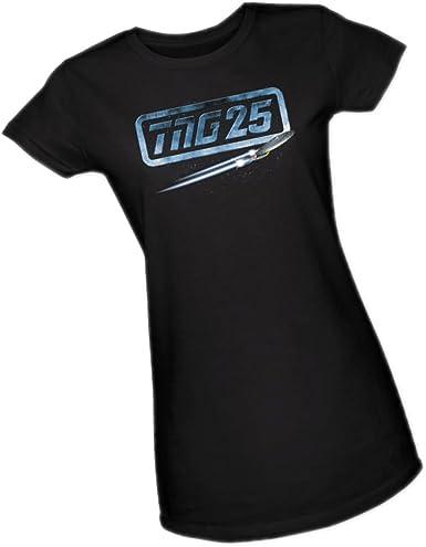 Star Trek TNG 25th Anniversary Enterprise Data Junior T Shirt