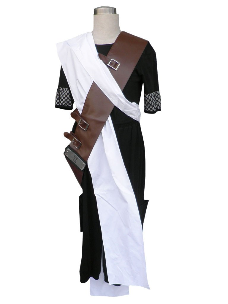 Wsysnl Japanese Anime Cosplay Halloween Costume for Gaara 1 st Generation, Adult/Kids