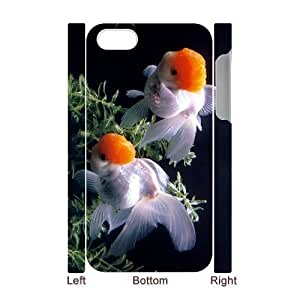 3D Bumper Plastic Case Of Goldfish customized case For iPhone 5 5s