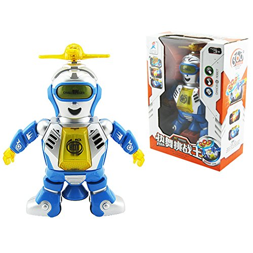 Dancing Space Astronaut Robot Toys with Music Lightening Electronic Smart Robot, Develop Fine Motor Skills & Boost Hand To Eye Coordination by BabyPrice