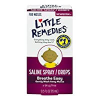 Little Remedies Noses Saline Spray/Drops, 0.5 Ounce