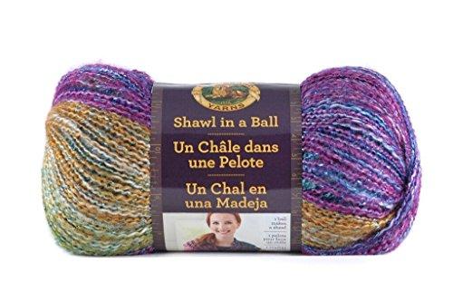 Lion Brand Yarn 828-302 Shawl in A Ball, Prism by Lion Brand Yarn