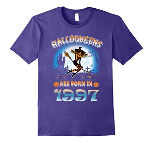 Halloween Costume Ideas 20 Yr Old (Mens September 1997 - 20th Birthday Gifts Funny Tshirt 2XL Purple)
