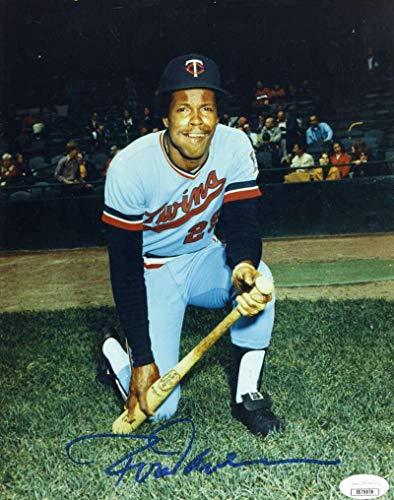 (Rod Carew Signed Photo - Coa 8x10 Authentic - JSA Certified - Autographed MLB Photos)